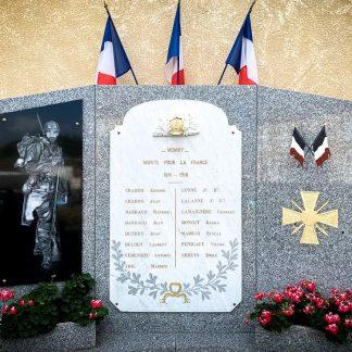 Monument aux morts pour la France en granit